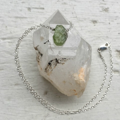 Birthstone August Peridot Necklace