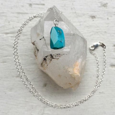Birthstone December Turquoise Necklace