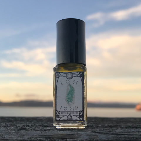 Lost Forest Essential Oil Gemstone Perfume Blend
