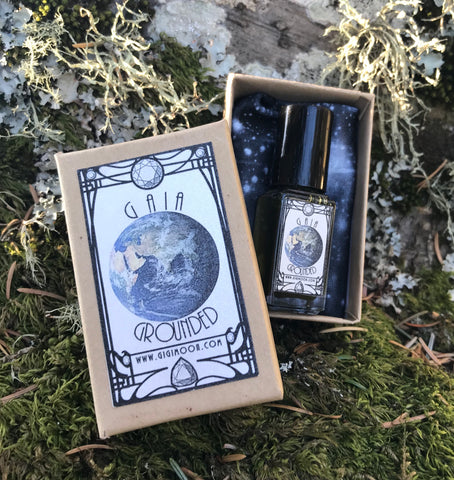 Gaia Grounded Essential Oil Gemstone Perfume Blend