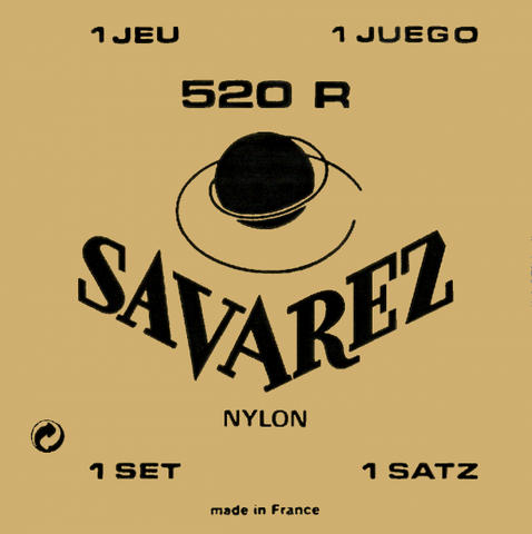 Encordado Savarez 520 R Tensión Normal Nylon