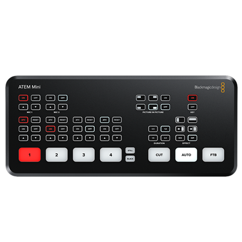 Mezcladora de Video Blackmagic ATEM Mini