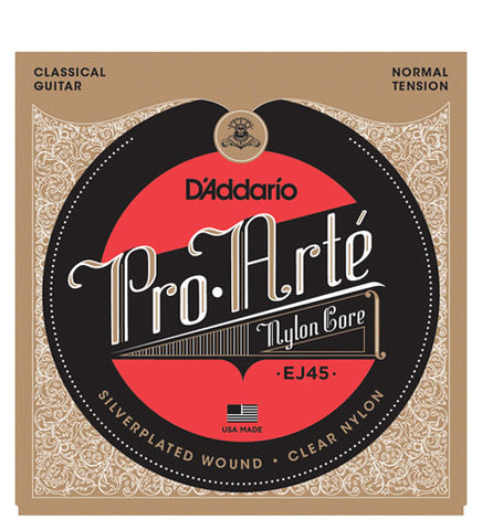 Encordado D'Addario EJ45 ProArte Nylon Tensión Normal