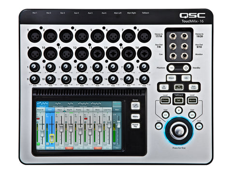 Mezcladora digital QSC TouchMix-16