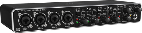 Interface Behringer U-PHORIA UMC404HD