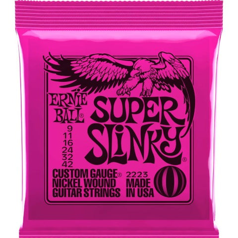 Encordado Ernie Ball 2223 para Guitarra 09-42