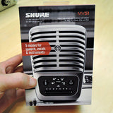 Interface Shure Motiv MV51