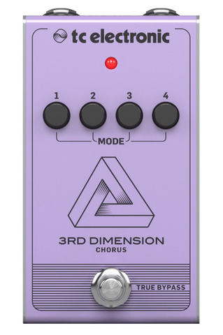 Pedal Efecto TC P/Guitarra 3rd Dimension Chorus