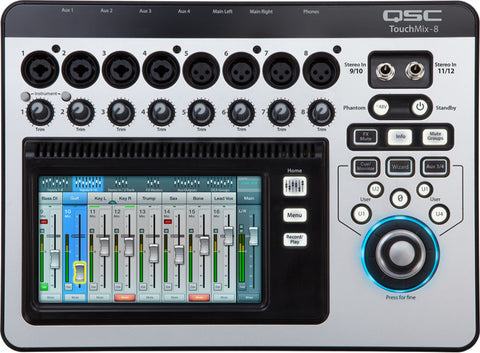 Mezcladora digital QSC TouchMix-8