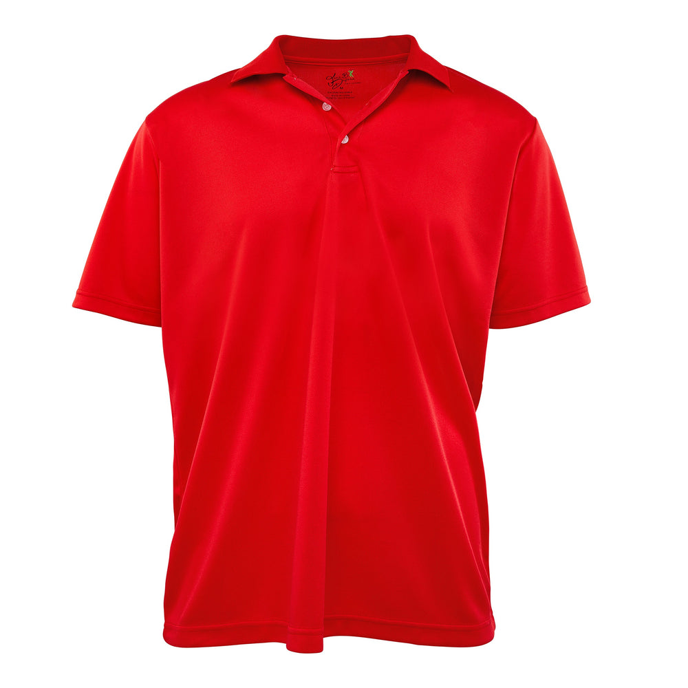 Dri-FIT Golf Shirts - Men's Soft, Solid Bold - Standard Fit Short Sleeve Golf Shirt - mygolfshirts.com