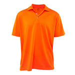 Soft DriFit Mens Solid Bold Golf Shirts