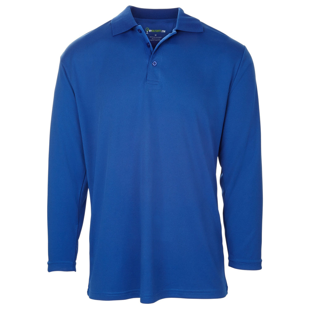 Dri-FIT Golf Shirts - Men's Long Sleeve Solid - Standard Fit