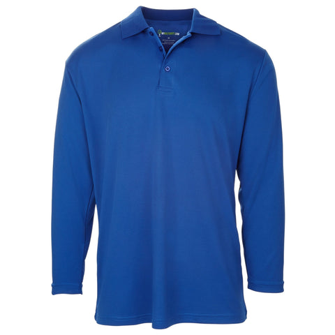 Style # 6558 Men's Classic Long Sleeve Golf Shirts