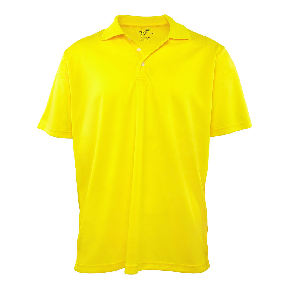 Dri-FIT Golf Shirts - Men's Solid Bold Standard Fit Short Sleeve Golf Shirt - mygolfshirts.com