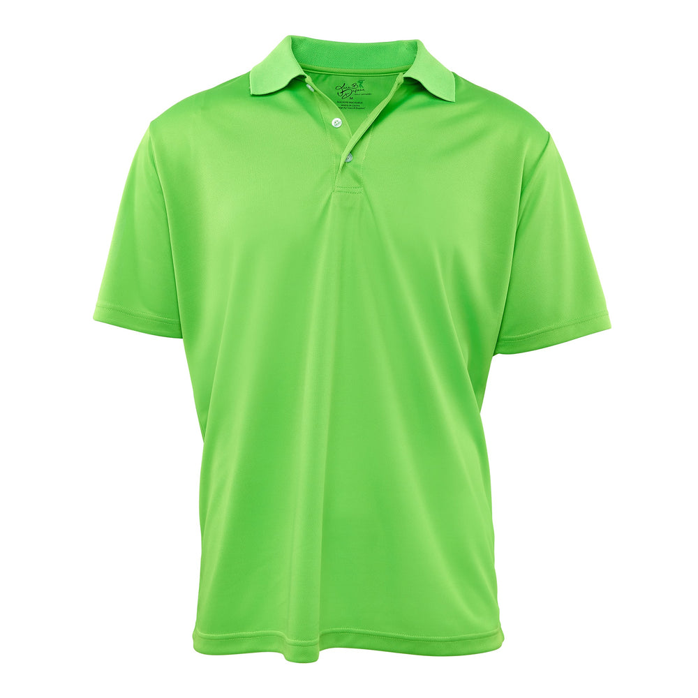 Dri-FIT Golf Shirts - Men's Green Solid Bold - Standard Fit