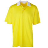 Men's Traditionally Bold Short Sleeve Golf Shirts - Collar Contrast Short Sleeve Golf Shirt - mygolfshirts.com