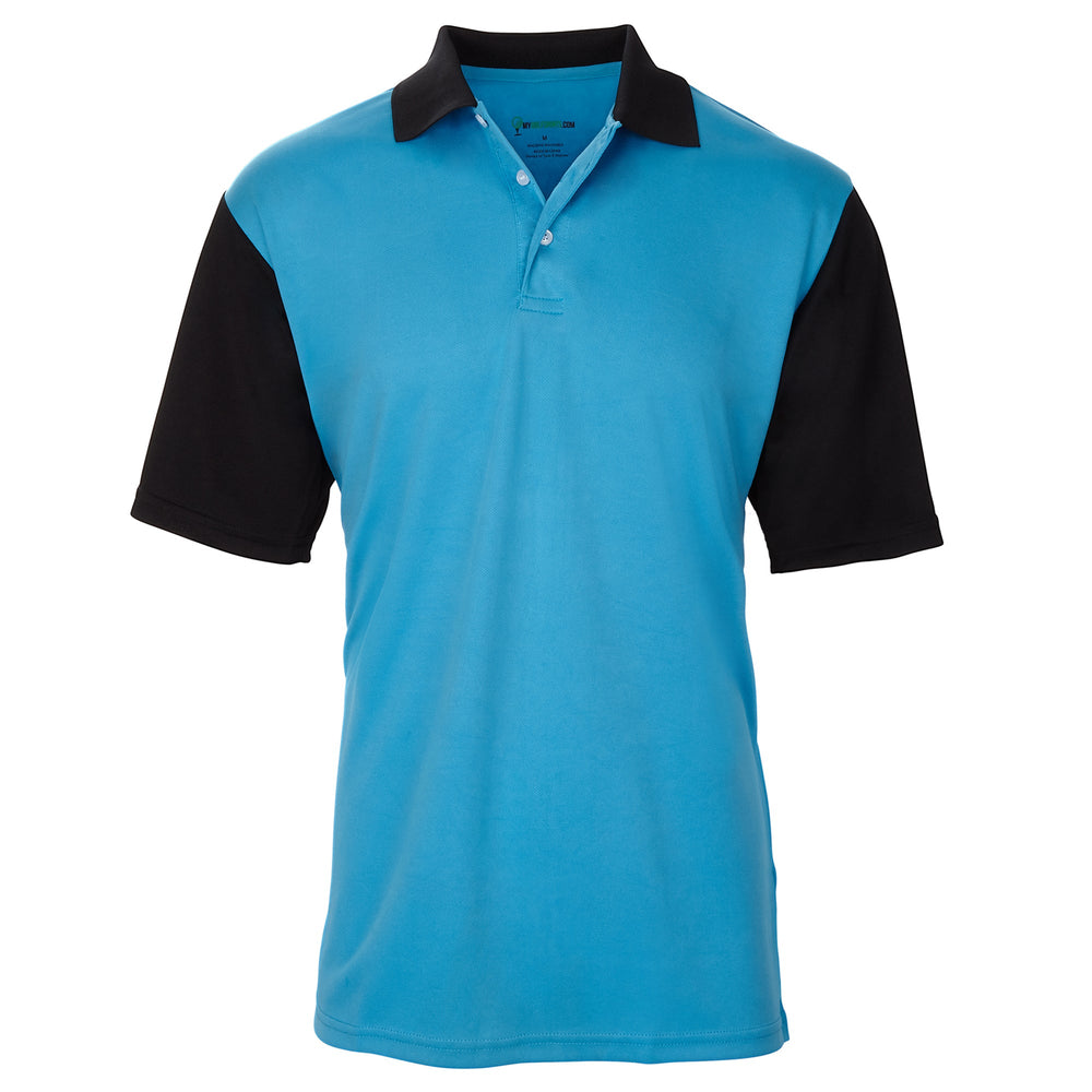 Dri-FIT Golf Shirts - Men's Two-Color Contrast