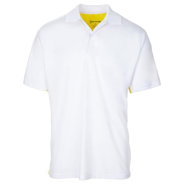 Style  6517   Men's Duality Contrast Short Sleeve Golf Shirt - mygolfshirts.com