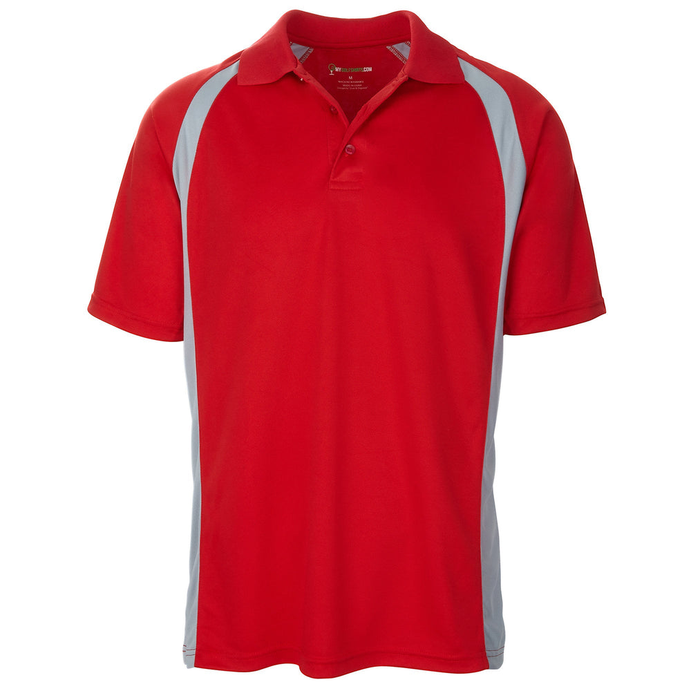 Dri-FIT Golf Shirts - Men's Unique Performance Design - Standard Fit
