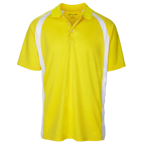 Style # 6521 Men's Traditionally Bold Short Sleeve Golf Shirts - Sport Contrast