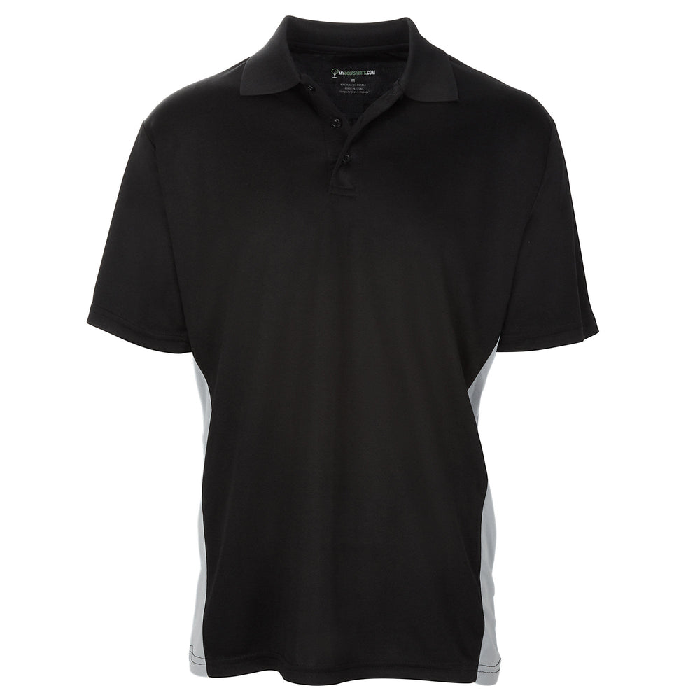 Men's Bold Torso Contrasts - Best Golf Shirts 2019 Short Sleeve Golf Shirt - mygolfshirts.com