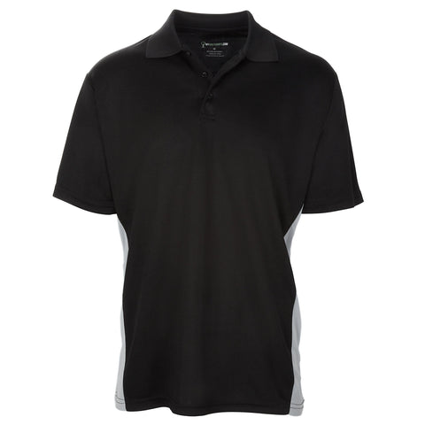 Style # 6522 Men's Traditionally Bold Short Sleeve Golf Shirts - Torso Contrasts