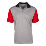 Dri-FIT Golf Shirts - Men's Three-Color Pattern Standard Fit Short Sleeve Wild  Golf Shirt