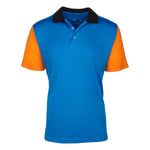 Men's Modern Paradigm Short Sleeve Golf Shirts - Trinity Contrast Short Sleeve Golf Shirt - mygolfshirts.com