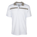 Dri-FIT Golf Shirts - Men's Bold Line Contrast Standard Fit Short Sleeve Golf Shirt - mygolfshirts.com