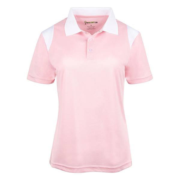 New French Cut Dri-Fit Short Sleeve Women Golf shirt
