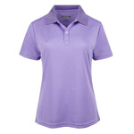 French Junior Classic Purple Women Dri-Fit Short Sleeve Short Sleeve Golf Shirt - mygolfshirts.com