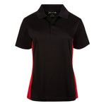 Our best  Women Dri-Fit Slim Bold French Junior Cut Golf Shirts Short Sleeve Golf Shirt - mygolfshirts.com