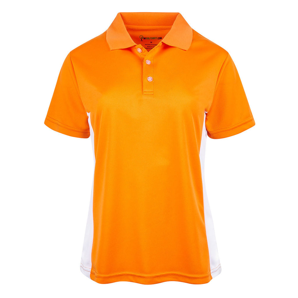 Our best  Women Dri-Fit Slim Bold French Junior Cut Golf Shirts
