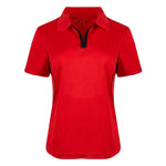 My favorite French  Cool Contrast Women  Golf Shirt