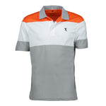 Dri-FIT Golf Shirts - Men's Short Sleeved Tri-Color - Standard Fit