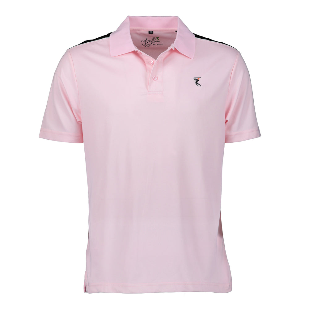 New Style - Mens DRI-Fit Short Sleeve Contrasting Shoulder Golf Shirt