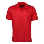 Dri-FIT Golf Shirts - Men's Contrasting Shoulder - Standard Fit Short Sleeve Golf Shirt - mygolfshirts.com
