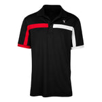 Dri-Fit Golf Shirt- Men's Bold Two Coloured Line T-shirt 6945