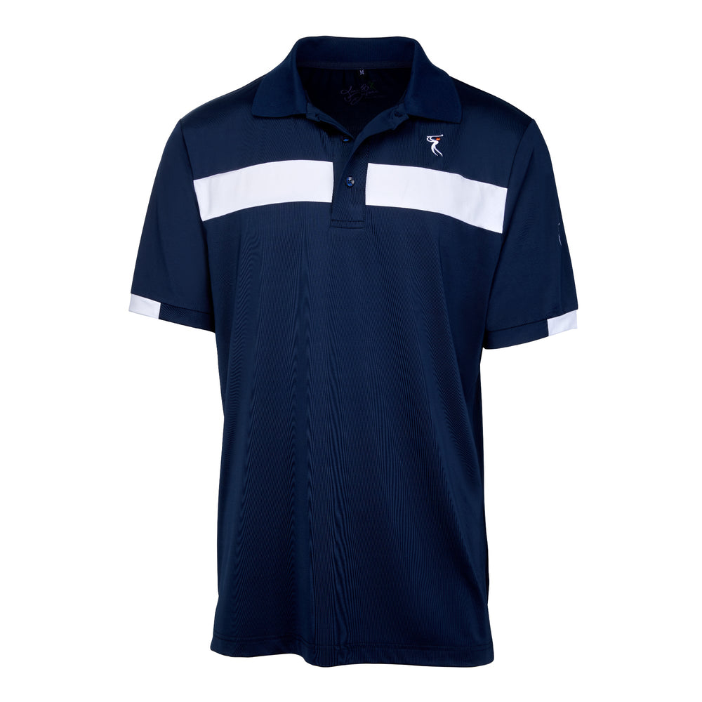 Dri-Fit French Golf Shirt-Men's Bold Two Line T-shirt 6955