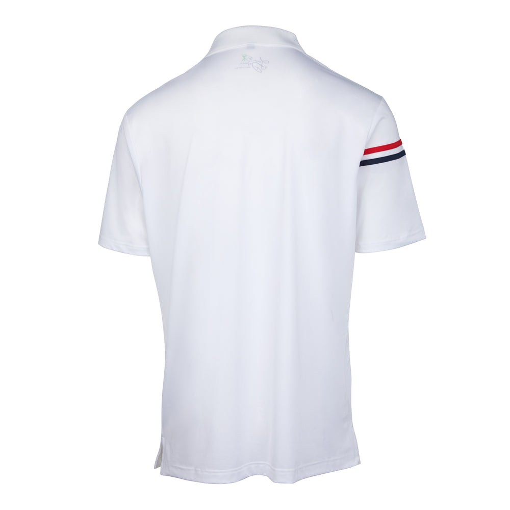 Dri-Fit Golf Shirt- Men's Bold Two Coloured Line T-shirt 6965