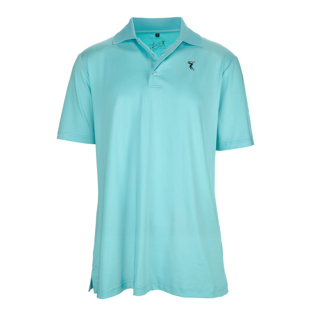 Men's UPF 50+ Short-Sleeve Quick-Dry Polyester & Spandex Fabric Golf Shirt 7002