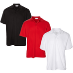 Men's One Color Dri-Fit Golf Shirts - Save with a Three Shirt Bundle