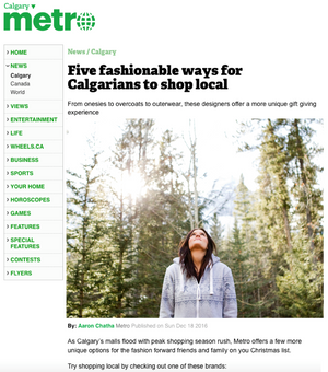 Five fashionable ways for Calgarians to shop local