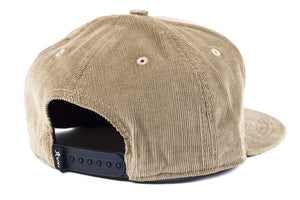 Corduroy Snapback | Dirty Brown