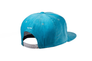 Powder Blue Corduroy Snapback