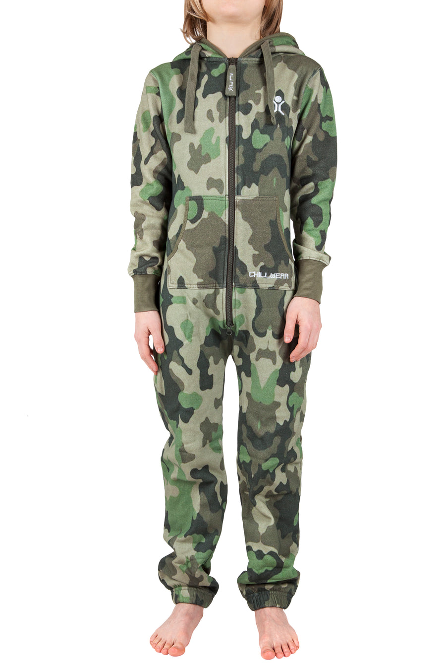 Camo Green Kids Onesie