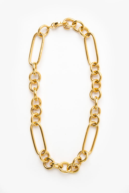 Leisure Chain Necklace - 14k Vermeil