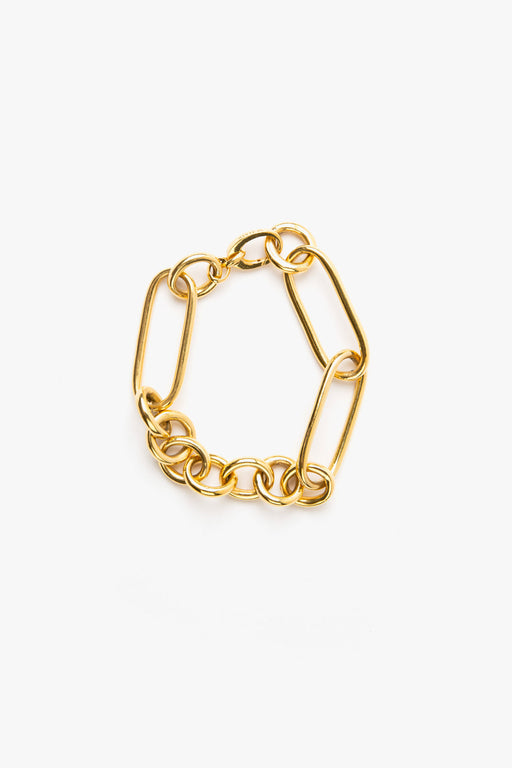 Leisure Chain Bracelet -14k Vermeil