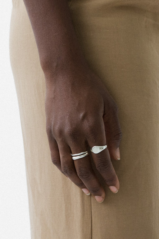 Classic Signet Ring - Sterling Silver