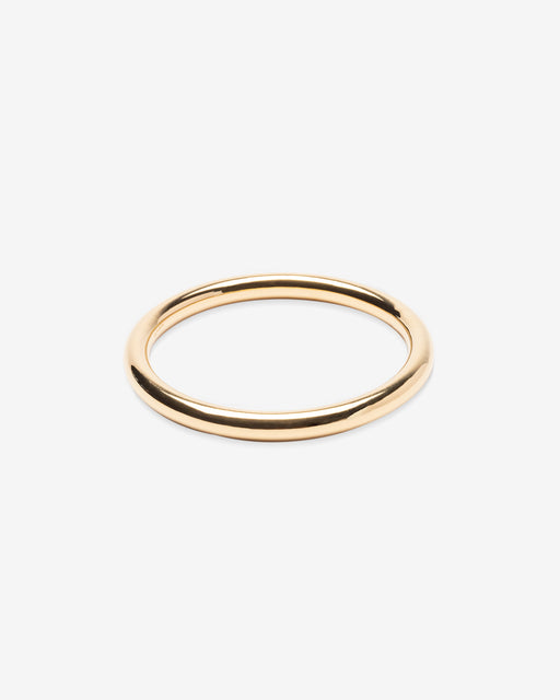 Goldie Tube Bangle - 14k Vermeil | Last One